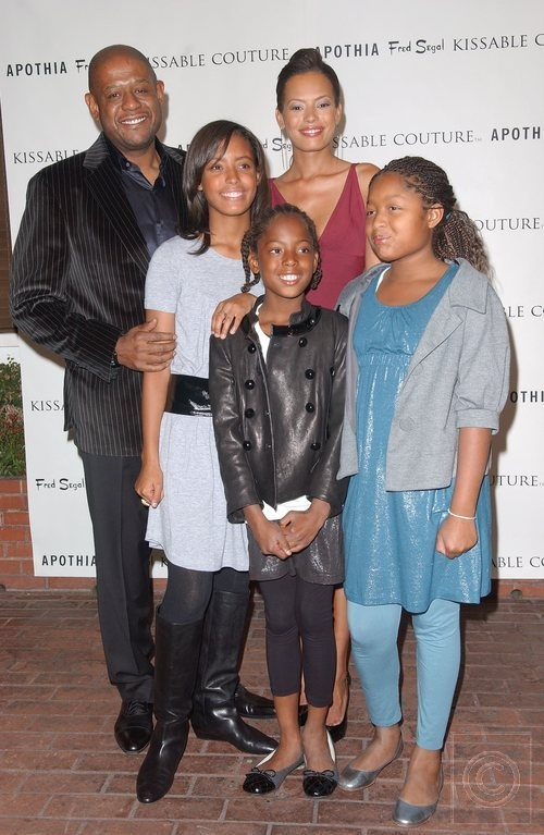 to(r)Forest Whitaker,Autumn,Sonnet,True,and wife Keisha Whitaker