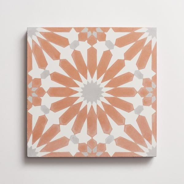 Alhambra Red Clay 8 X8 X5 8 Cle Tile
