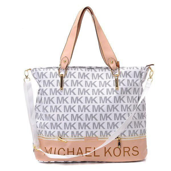 Michael Kors Classic Monogram Large White Totes.More than 60% Off, I enjoy these bags.It's pretty cool (: Check it out! | See more about winter outfits, michael kors outlet and michael kors.