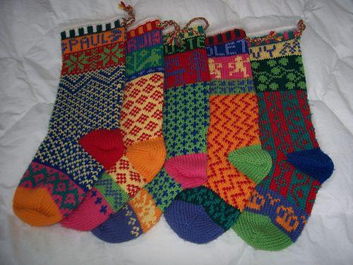 Ravelry: Cascade Christmas Stocking (W104) pattern by Marji LaFreniere.  A great free pattern from www.cascade.com