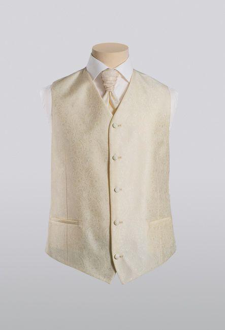 Классическая нарядная жилетка с пластроном | Classic elegant waistcoat with plastron
