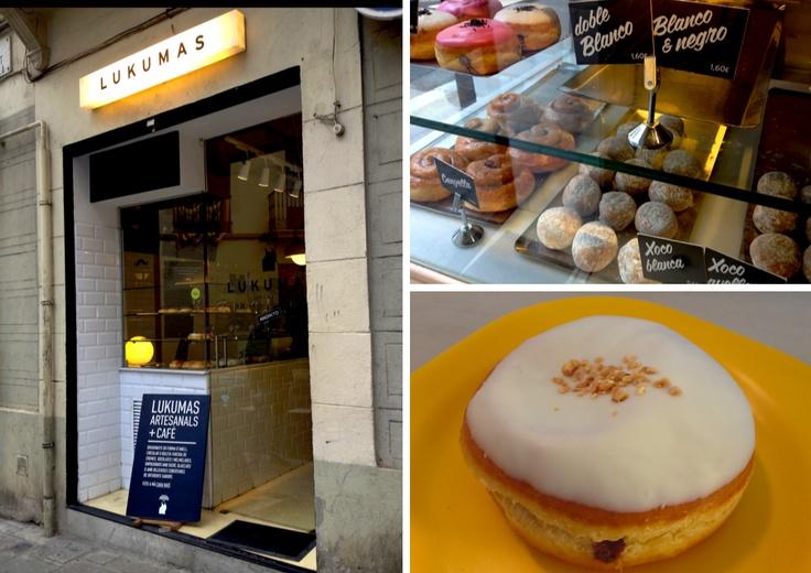 En Lukumas hacen cada día donuts artesanos inigualables. ¡Para empezar bien el día!