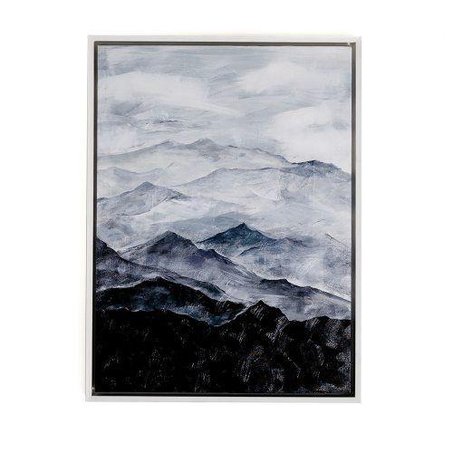 Mountain Terrain Canvas