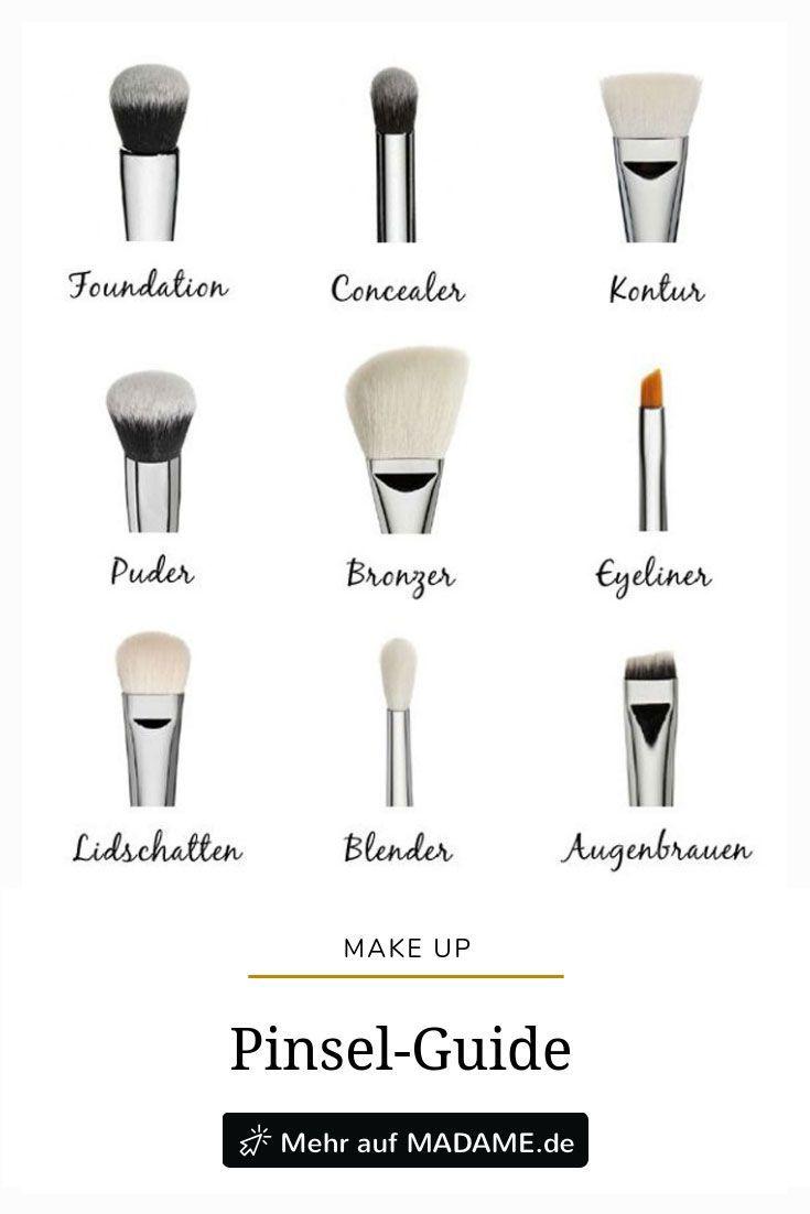 Pincel de maquiagem: qual ferramenta é para quê?   – MAKE-UP Tipps & Tricks