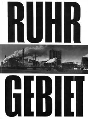 Designplakat fra/om Ruhr