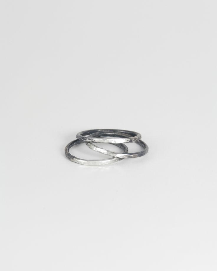 silver ponte rings / www.afarjewelry.com/shop