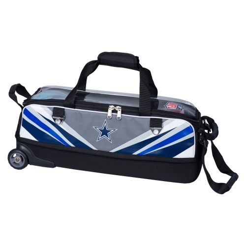 Nfl Dallas Cowboys Slim Triple Roller Bowling Bag 104 95 W Free Shipping Bowling Bags Nfl Dallas Cowboys Bags