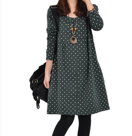 The Christmas gift Casual Knit dresses loose by iloveshoppinghere, $50.00
