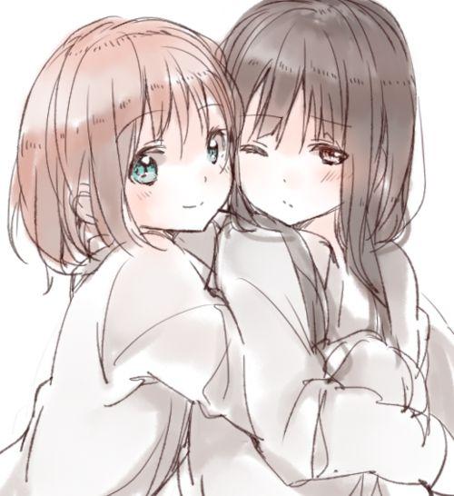 Not hide Yuri friends hentai manga