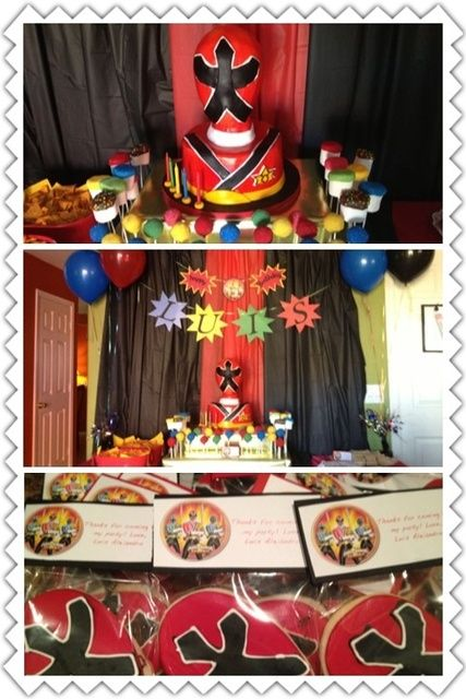 "Photo 1 of 5: Power Rangers Samurai / Birthday ""Power Rangers Samurai party!"" 