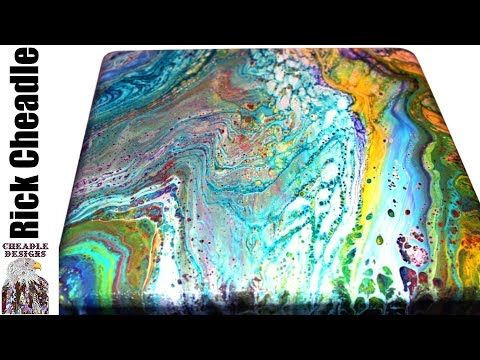 How I Recycle Canvases And Paint Run Off -Two Projects In One and a Look At One of My Installations - YouTube