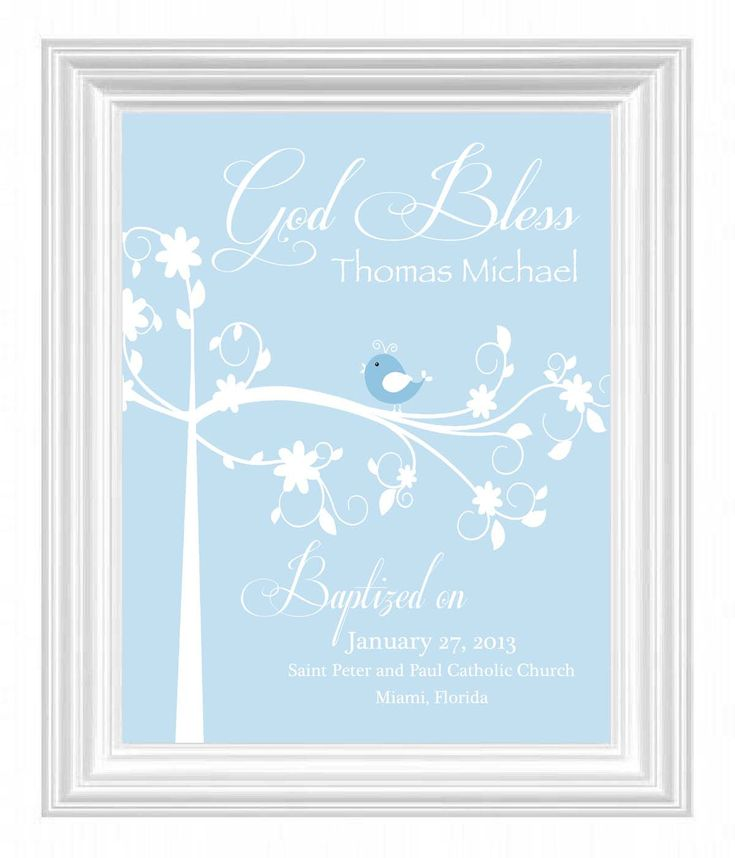 44 best images about christning on pinterest golden wedding christening gift baptism gift baby boy personalized print bird name wall art for nursery other colors available negle Image collections