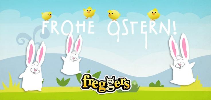 Ostern! Mit lustigen Häschen :D