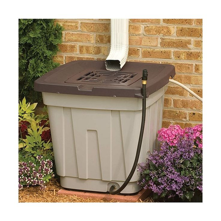The Suncast 50 Gallon Rain Barrel is a modern day technique to hold rainwater, which can be utilized for various purposes. This rain barrel is made from plastic, which makes it durable to resist harsh outdoor conditions. The light taupe color with mocha lid gives it an attractive appearance. This barrel has an overflow hose that can be connected to an additional barrel to maximize water collection. It has a shut off valve for the hose to prevent water wastage when the barrel is full. The…