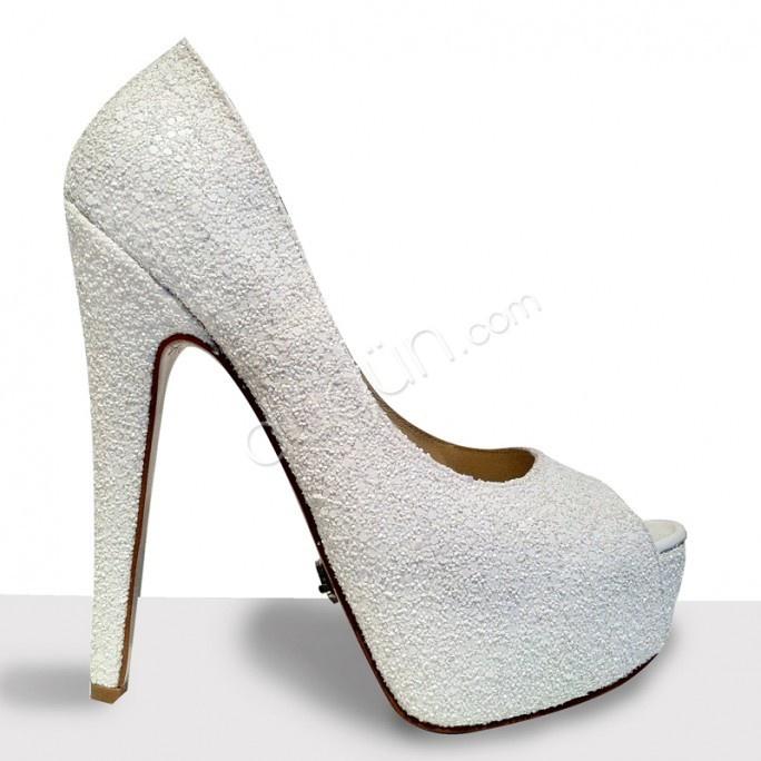 Wedding Shoe Almost-12 Gelin Ayakkabısı #kabartmali #gelin #ayakkabisi