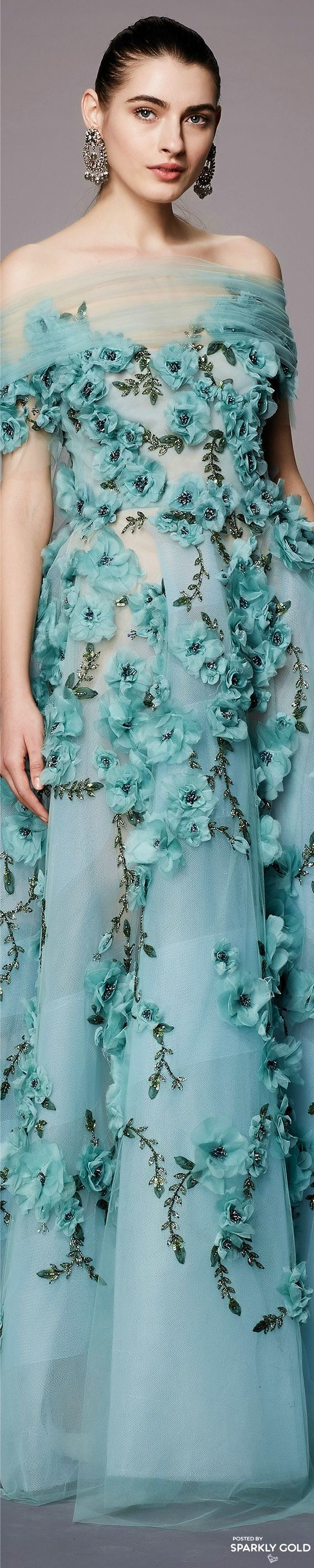 353 best Fashion: Marchesa images on Pinterest | High fashion, Cute ...