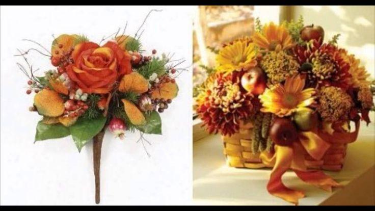 Осенний декор. Фото  и живопись