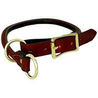 Mendota Rolled Leather Training Collar