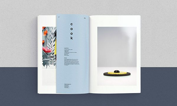 cook look book on Behance