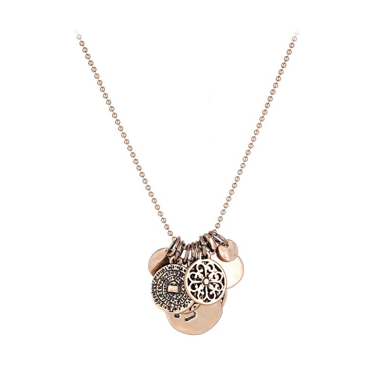 Cheap necklace free, Buy Quality jewelry necklace directly from China jewelry necklaces for men Suppliers: New Retro Vintage Pendant&Necklace Ethnic Disc Disk Round Hollow Carved Beads Chains Pendant Necklace Punk Women Jewelry