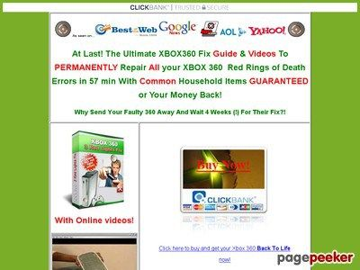 Xbox 360 Fix -Repair Guide & Videos! Red Ring of Death? Microsoft ...