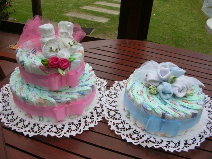tortas de pañales