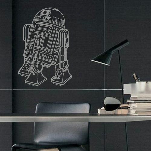Large Star Wars R2D2 Childrens Bedroom Wall Art Mural Sticker Transfer Decal | eBay
