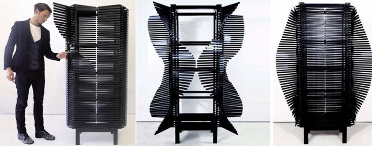 Шкаф для одежды может быть настоящим произведением искусства. Особенно если это новое творение от дизайнера с эпатажным стилем Sebastian Errazuriz.