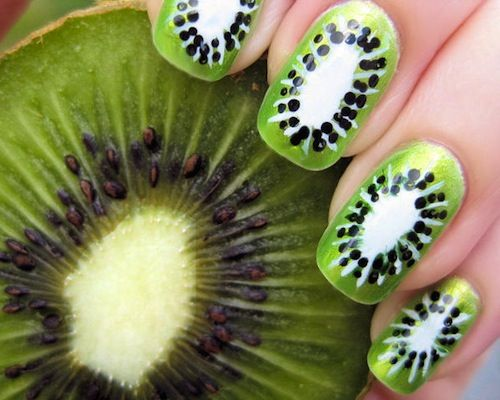 nagels met nagellak - Google zoeken