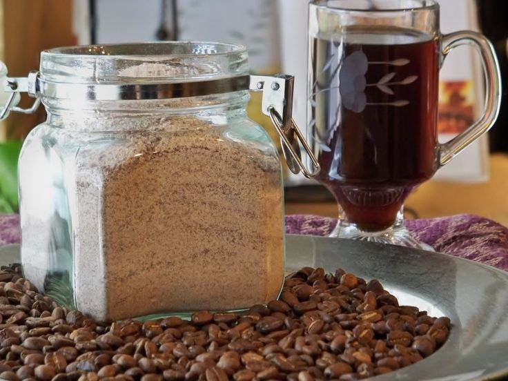 DIY: Cafe VIenna Powdered Coffee Mix recipe~ makes a great gift