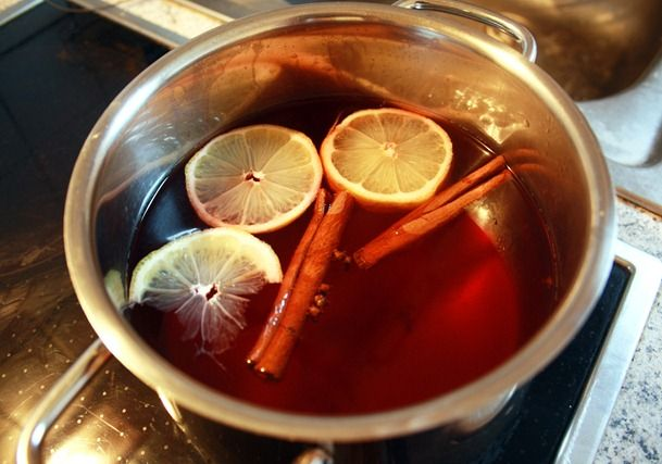 Recipe for Kinderpunch!!! This is similar to my Christmas Hot Cranberry Cider