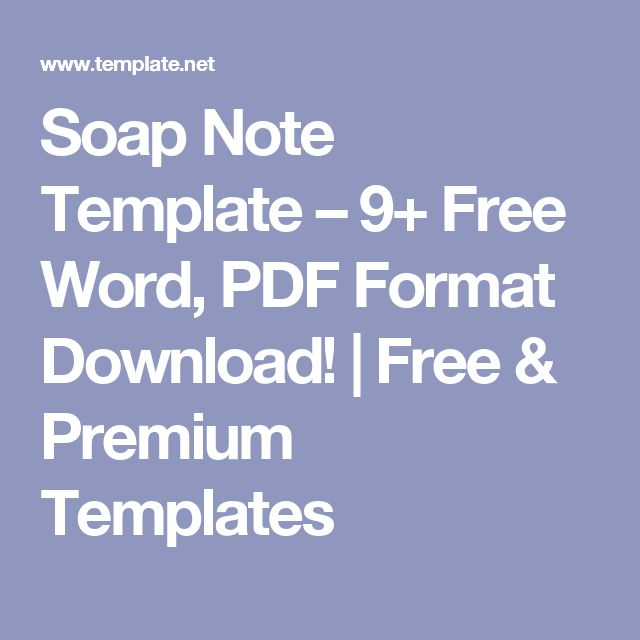 The 25+ best Soap note ideas on Pinterest Microwave soap, Simple - subjective objective assessment planning note