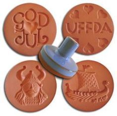 Scandinavian Tradition Cookie Stamps - look, Julie, there's more!  Actually there are 4 sets of 4 on their website.