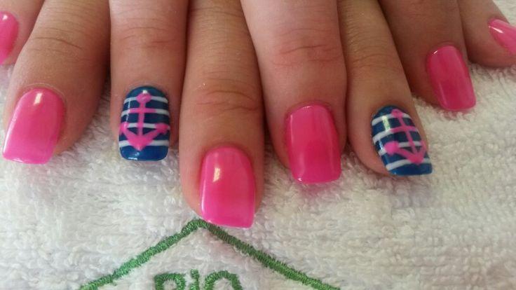 Pink sailor #biosculpture