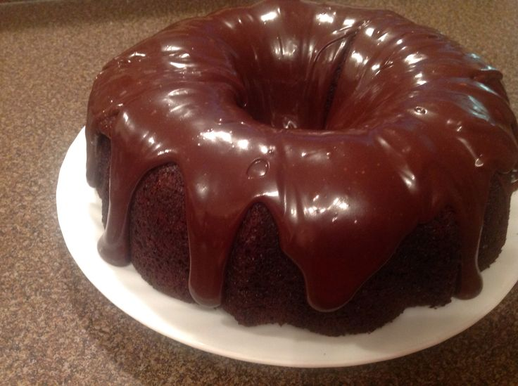 I was watching the Chew today and saw this being made - I thought - I can do that http://abc.go.com/shows/the-chew/recipes/double-chocolate-bundt-cake-michael-symon