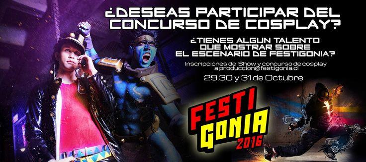 Festigonia 2016 - Punta Arenas, Chile, 29 al 31 de Octubre 2016 ~ Kagi Nippon He ~ Anime Nippon-Jin