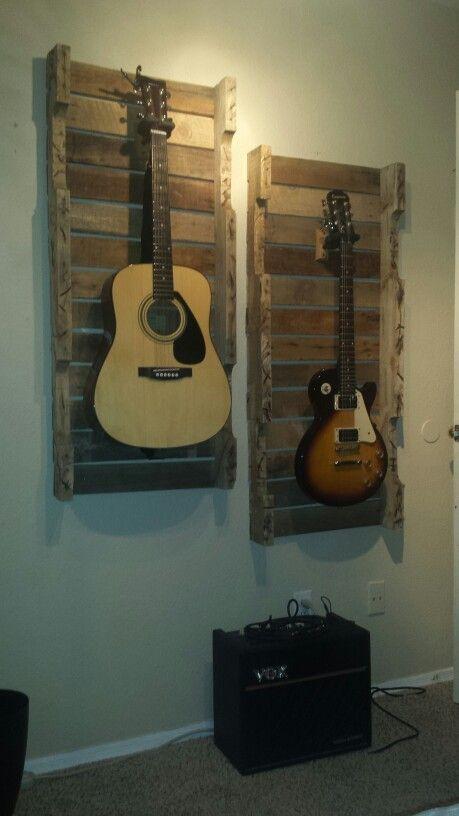Pallet wood Guitar frames