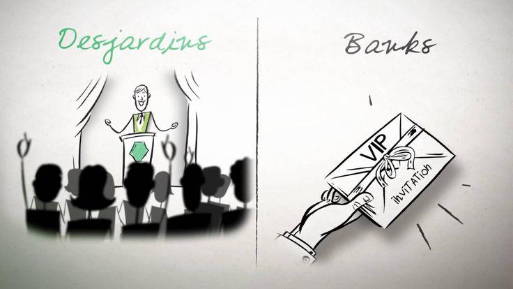 Why choose Desjardins versus a bank?