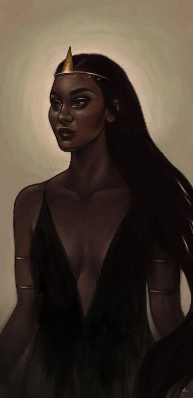 Nehemia | Princess of Eyllwe by xxgen.deviantart.com on @DeviantArt