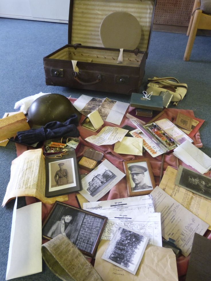 1st WW - Stories from a soldiers suitcase