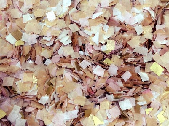 Hey, I found this really awesome Etsy listing at https://www.etsy.com/listing/233930677/biodegradable-confetti-gold-blush-white
