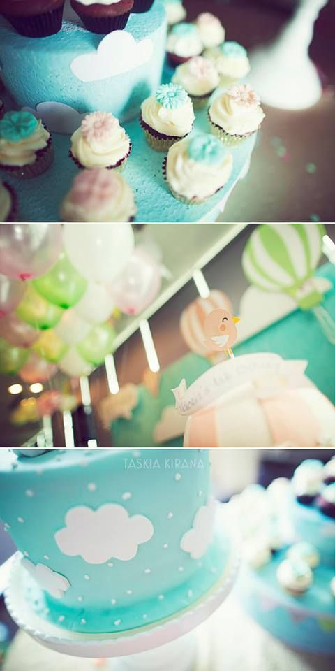 The cake and the cupcakes :) by Eve & Artistry.