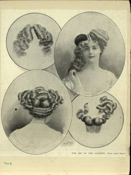 simple haircut designs 96 best images about vintage amp past 1900 s hair 1908 | 51f0e5f12a142c498efe2ec1dc99ccbf