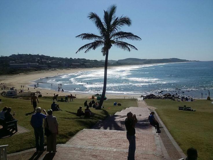 Scottbrugh beach. KZN, South Africa