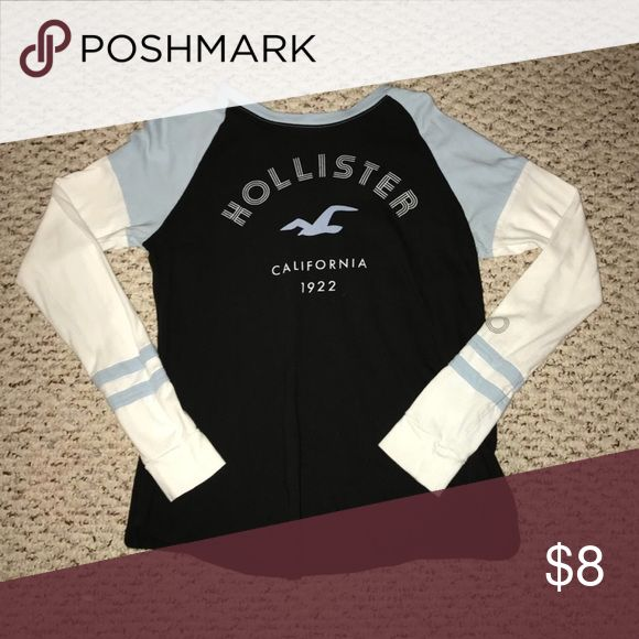 I just added this listing on Poshmark: Long sleeve Hollister t-shirt. #shopmycloset #poshmark #fashion #shopping #style #forsale #Hollister #Tops