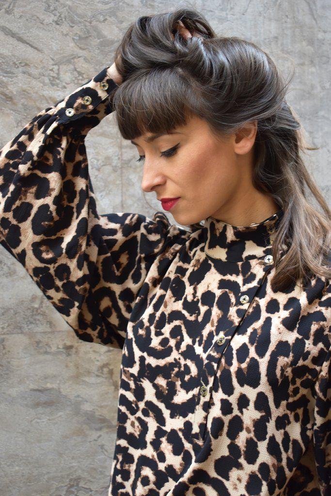 7d6493396d61 Baum Und Pferdgarten Maansi Wild Leopard Shirt   WOMENSWEAR ...