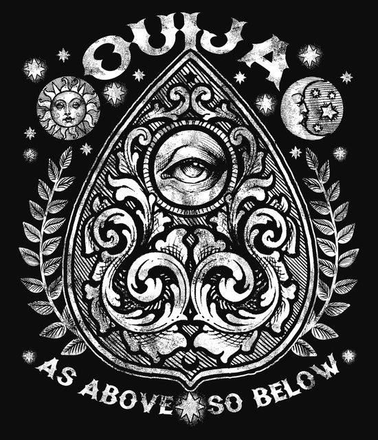 #ouija #symbol #tattoo