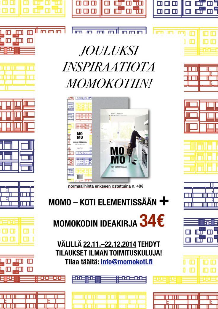 Tilaa kirjapaketti meilaamalla info(at)momokoti.fi