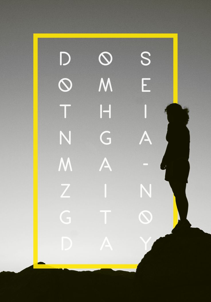 Poster design - Do something amazing today  #design #poster #print