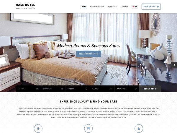Base Hotel Template